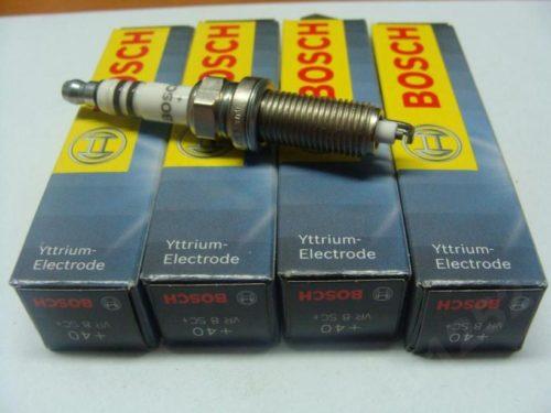 Комплект новых свечей зажигания BОSCH 5960.83 VR 8 SЕW для Нива Шевроле