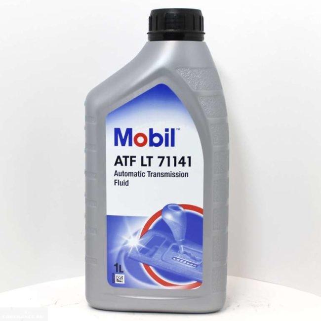 Канистра с трансмиссионным маслом Mobil ATF LT71141 1 литр для Пежо 308 автомат