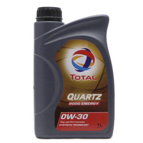Синтетического масло 1 литр TOTAL QUARTZ 9000 ENERGY 0W30