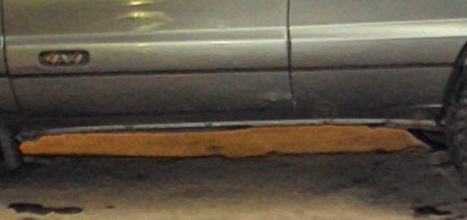 Разные колёсные диски на Нива Шевроле