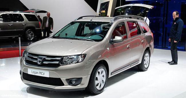 Dacia Logan рестайлинг 2017 год новый кузов