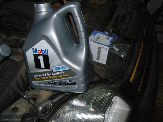 Моторное масло Mobil1 для Шевроле Нива