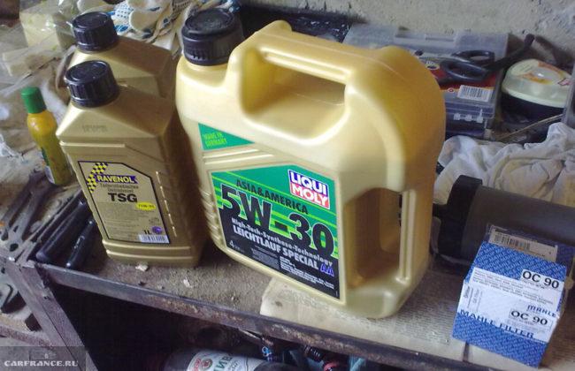 Масло в механическую коробку передач на Шевроле Лачетти Liqui Moly