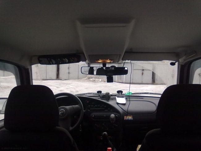 Панорамное зеркало заднего вида Нива Шевроле