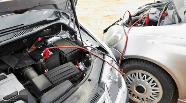Прикуривание от аккумулятора другого автомобиля