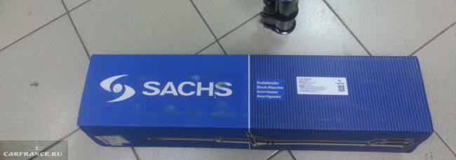 Задние стойки на Шевроле Лачетти Sachs