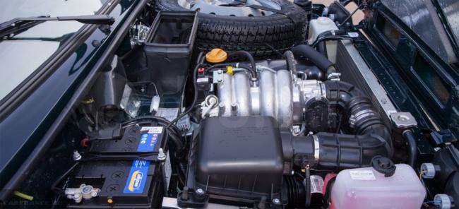 Старый двигатель 1.7 литра на Ниве