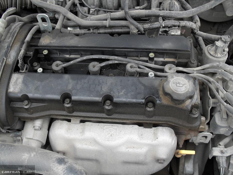 как откручивать крышку двигателя на chevrolet lacetti