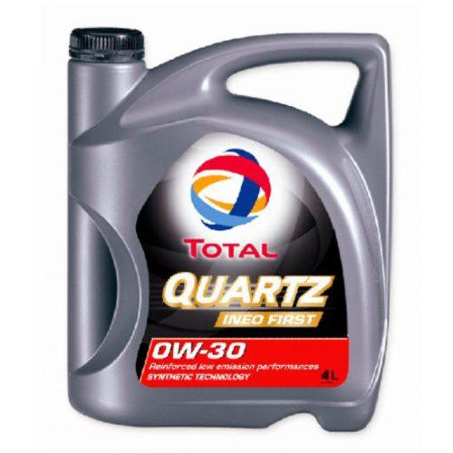 Синтетического масло 4 литр TOTAL INEO FIRST 0W-30