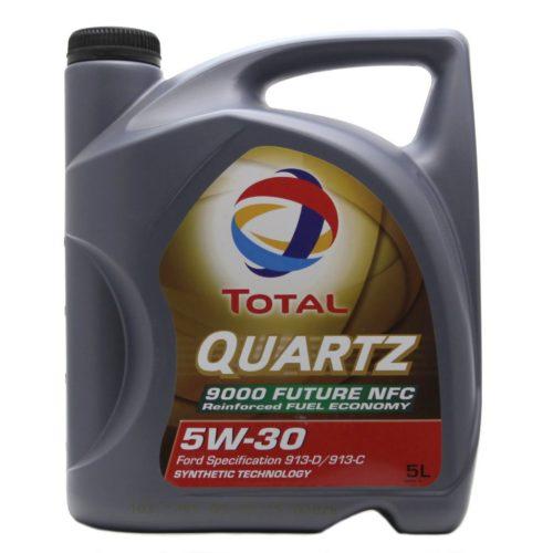 Полусинтетического масло 5 литров TOTAL QUARTZ FUTURE 9000 NFC 5w30