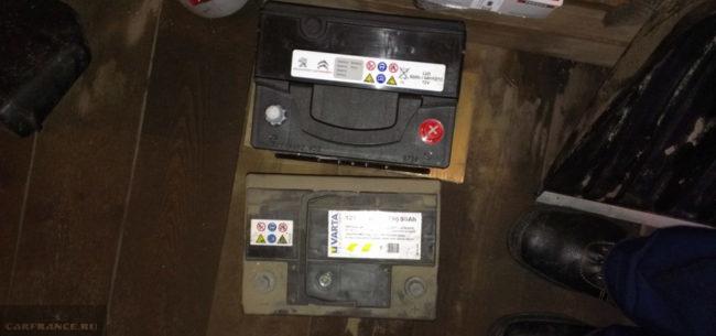 Оригинальный аккумулятор и Варта на Пежо 308