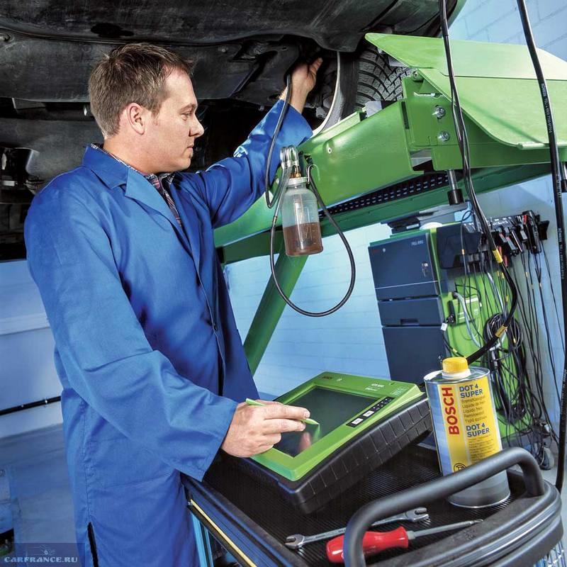 Стенд для прокачки сцепления на автомобиле