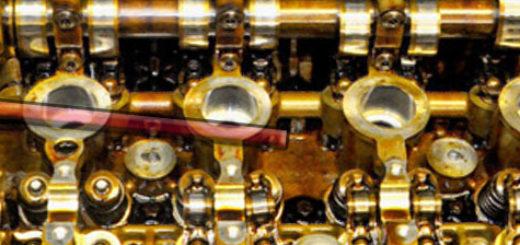 Цепь двигателя на Пежо 308