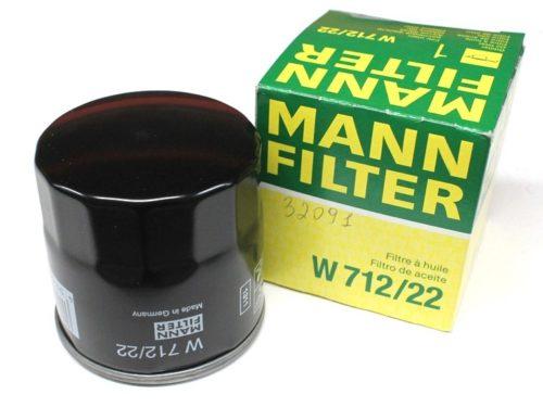 Новый фильтр очистки масла Мann 712/22 с упаковкой для Шевроле Лачетти