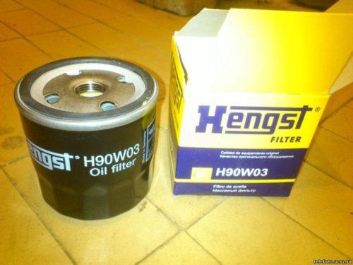 Новый фильтр очистки масла Нengst h90w03 с упаковкой для Шевроле Лачетти
