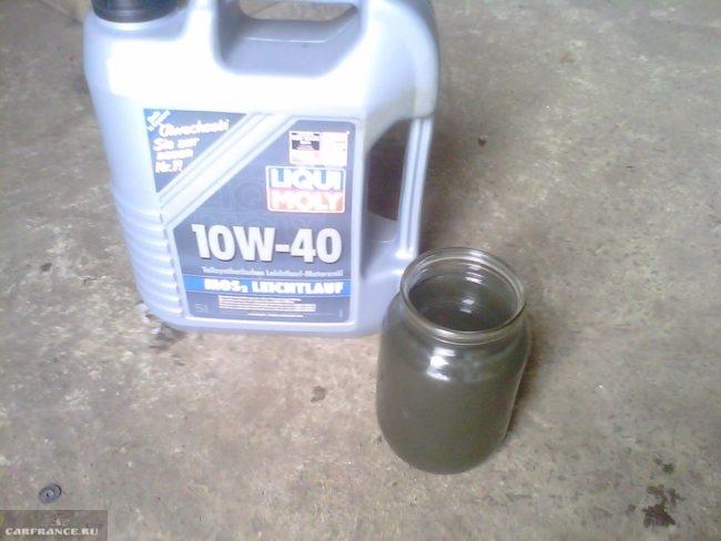 Полусинтетическое масло для Шевроле Ланос 10W-40