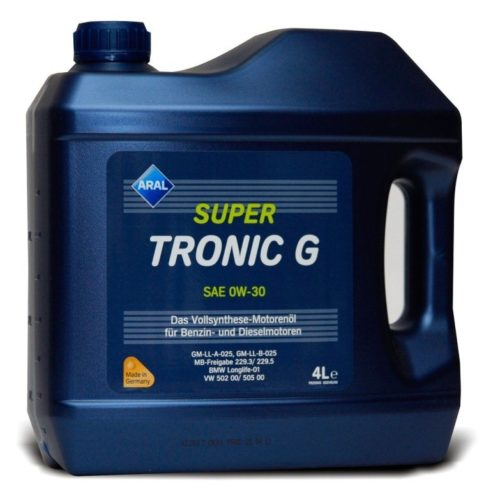 Моторное масло Aral SuperTronic G Шевроле Лачетти с вязкостью 0W-30