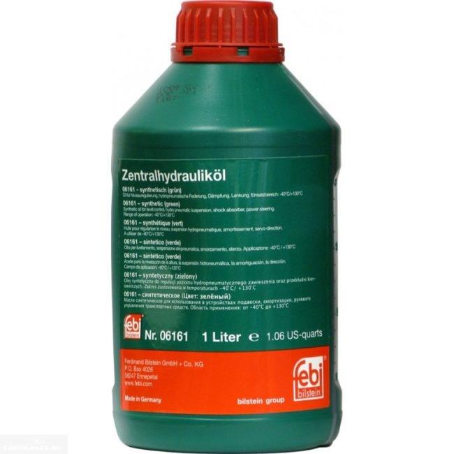 Трансмиссионное масло FEBI Pentosin в канистре для гидроусилителя руля Шевроле Лачетти