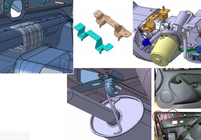 Изменения в конструкции седана Гранта