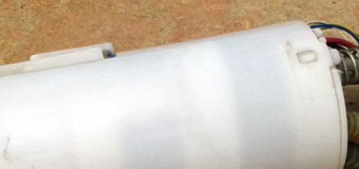 Внешний вид бензонасоса на Шевроле Ланос
