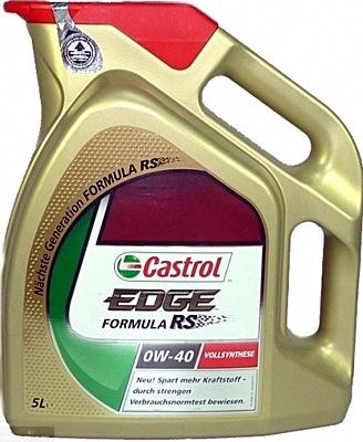Моторное масло Castrol EDGE 0W-40