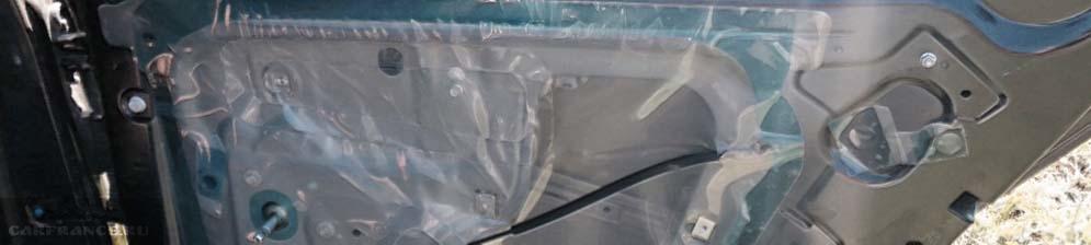 Задняя дверь Шевроле Кобальт без обшивки