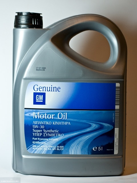 Моторное масло Genuime 5W-30