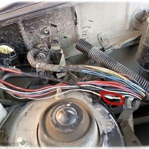 Скрутки плохих провдов питания двигателя на Шевроле Ланос