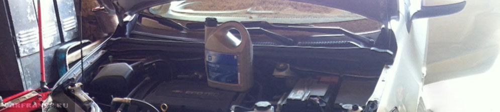 Моторное масло и двигатель Шевроле Авео