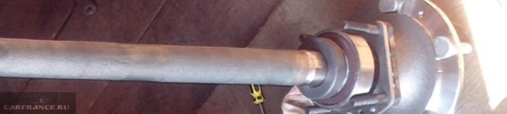 Замена заднего ступичного подшипника нива шевроле