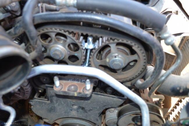 Ремень ГРМ на Шевроле Авео с двигателем 1.4 литра