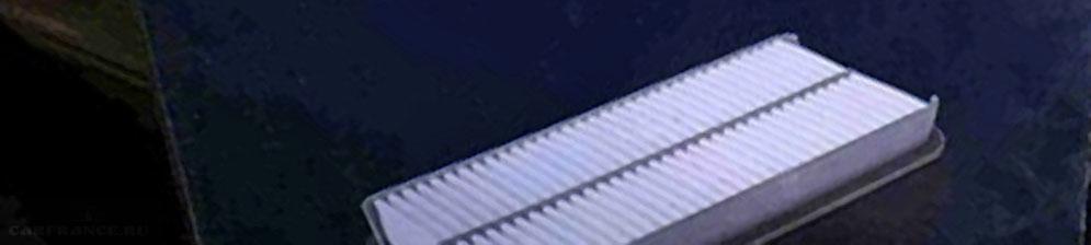 Упаковка салонного фильтра на Шевроле Авео
