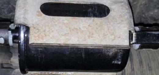 Крепление топливного фильтра на Шевроле Ланос