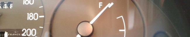 Показатель уровня бензина на Шевроле Ланос