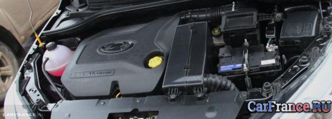 Двигатель Лада Веста 16 клапанов