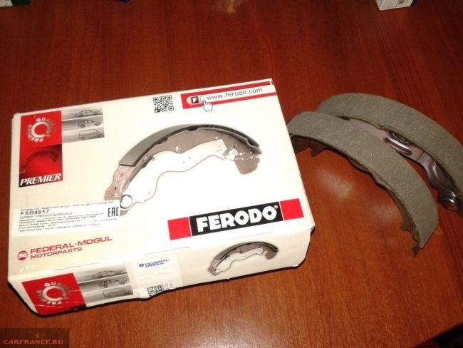 Новые в упаковке тормозные колодки Ferodo FSB4017 Шевроле Лачетти