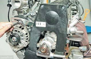 Двигатель Шевроле Ланос