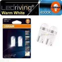 Габаритные лампы производства Osram W5W Warm White для Шевроле Лачетти