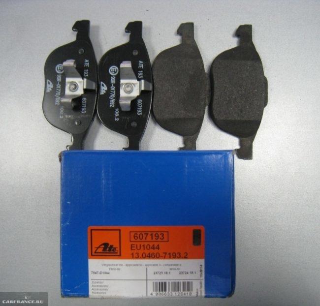 Тормозные колодки 13.0460-7193.2 на Форд Фокус 2 передние