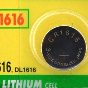 Батарейка GP CR1616-7C5 3V Lityum для ключа зажигания Шевроле Лачетти