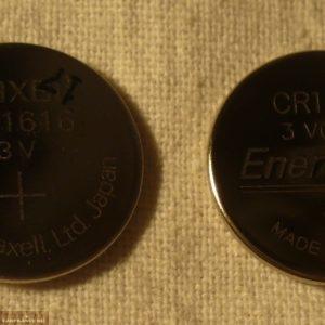 Две батарейки в ключ на Шевроле Лачетти