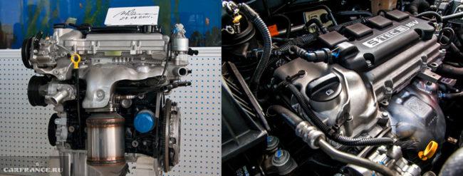 Бензиновый 16-клапанный двигатель GM Powertrain S-Tec III Шевроле Кобальт под капотом