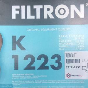 Салонный фильтр FILTRON Шевроле Круз