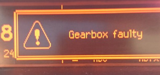 Gearbox faulty на бортовом компьютере Пежо 207