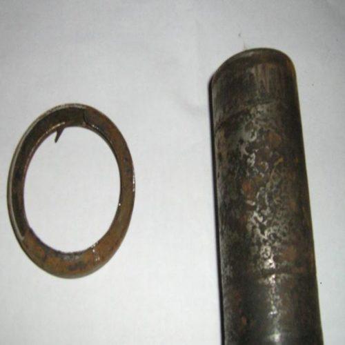 Сальник задней балки поврежденный корозией Пежо 206