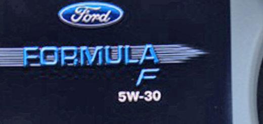 Моторное масло Форд Фокус 2 Formula