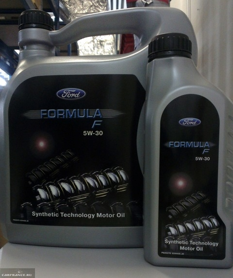 Масло Форд Формула 4 литра и 1 литр