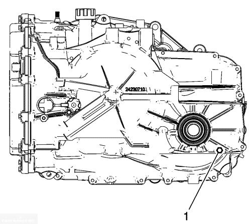Схема КПП Шевроле Каптива