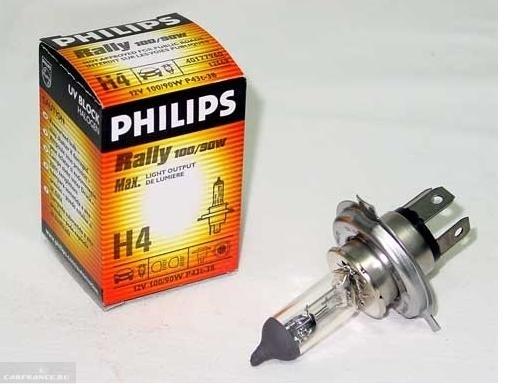 """Лампа ближнего света повышенной яркости Philips """"Rally"""""""