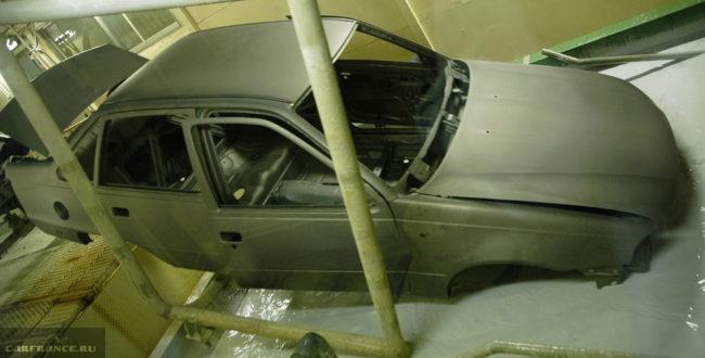 Оцинковка кузова автомобиля на заводе